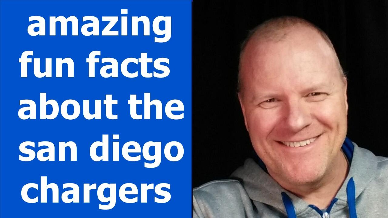 Amazing Fun Facts About The San Diego Chargers Joe