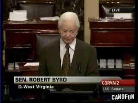 *The Little Chap That Follows Me*-Senator Robert Byrd