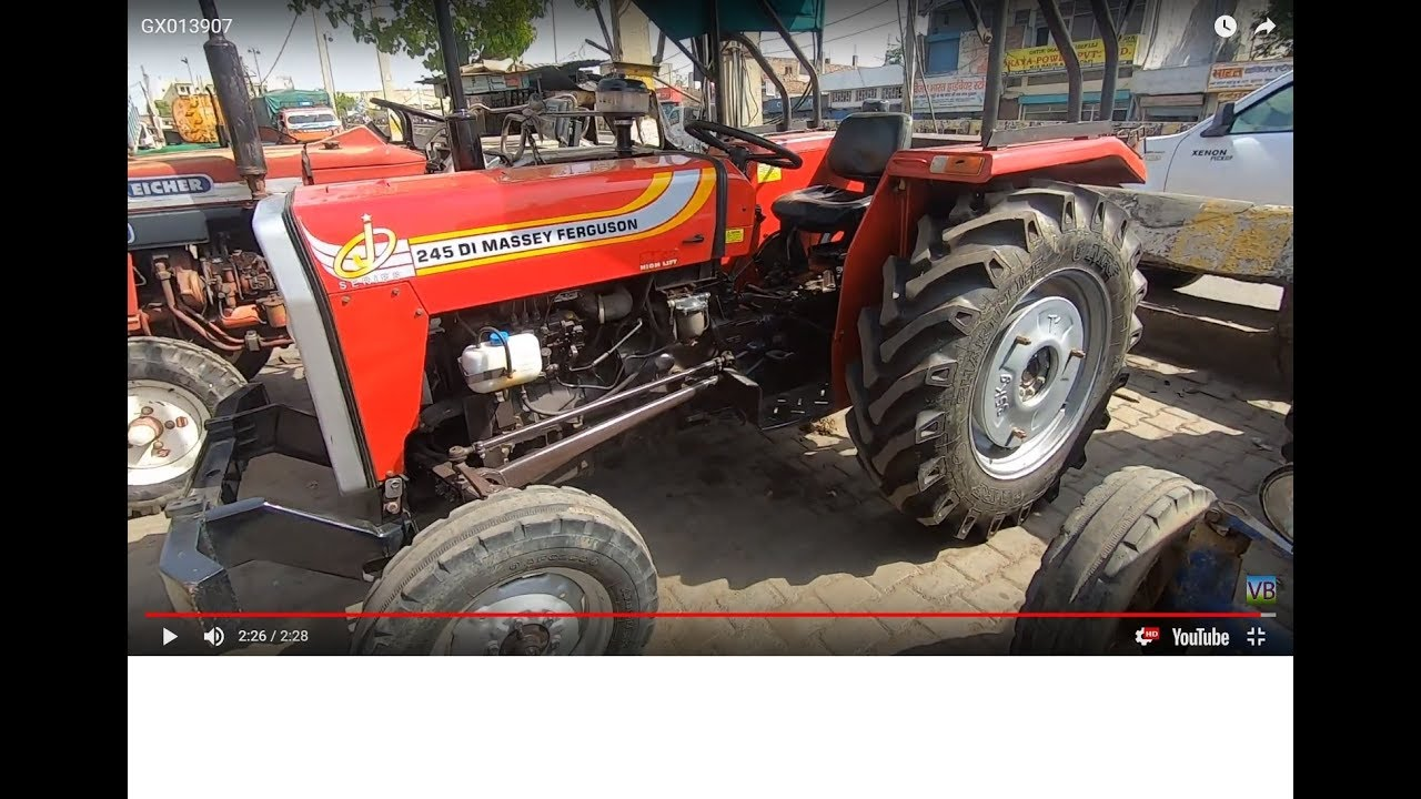 Massey 245 DI J series tractor full feature & specifications