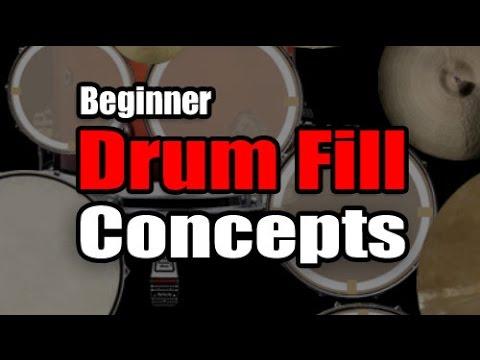 Beginner Drum Fill Concepts - Drum Lesson