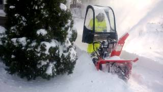 "Ariens Deluxe 30"" Snow Blower 1st time use Blizzard 2014"