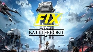 StarWars Battlefront can't find a game (FIX)