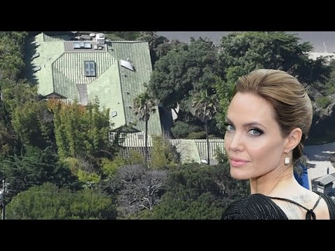 Get A Closer Look at Angelina Jolie's New Malibu Home!