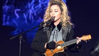 Madonna Rebel Heart Tour True Blue Live HD Sean Penn NYC