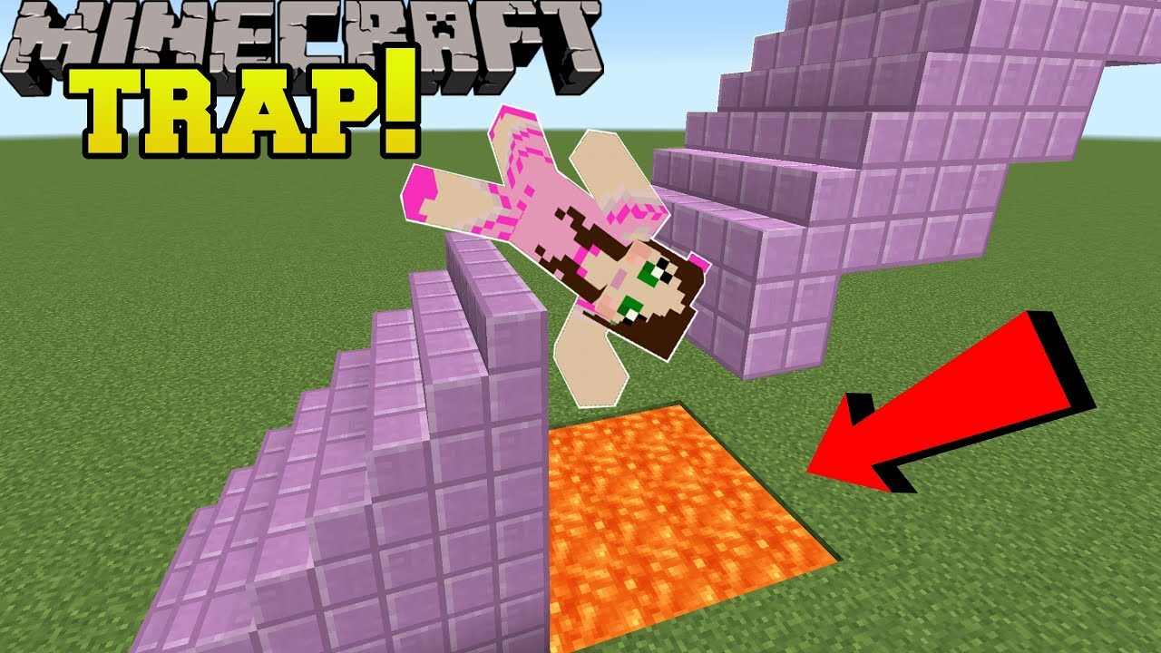 Minecraft The Stairway Is A Trap Chunk Re Custom Map 1