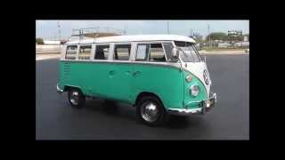 1964 Volkswagen Type 2 Deluxe 13 window Microbus