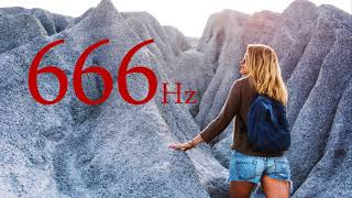 BANISH STRESS, TOXINS, AND EVIL SPIRITS from your body. 666Hz