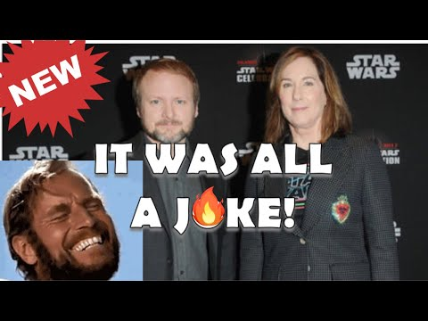 RIAN JOHNSON's stupid STAR WARS TRILOGY never even EXISTED.