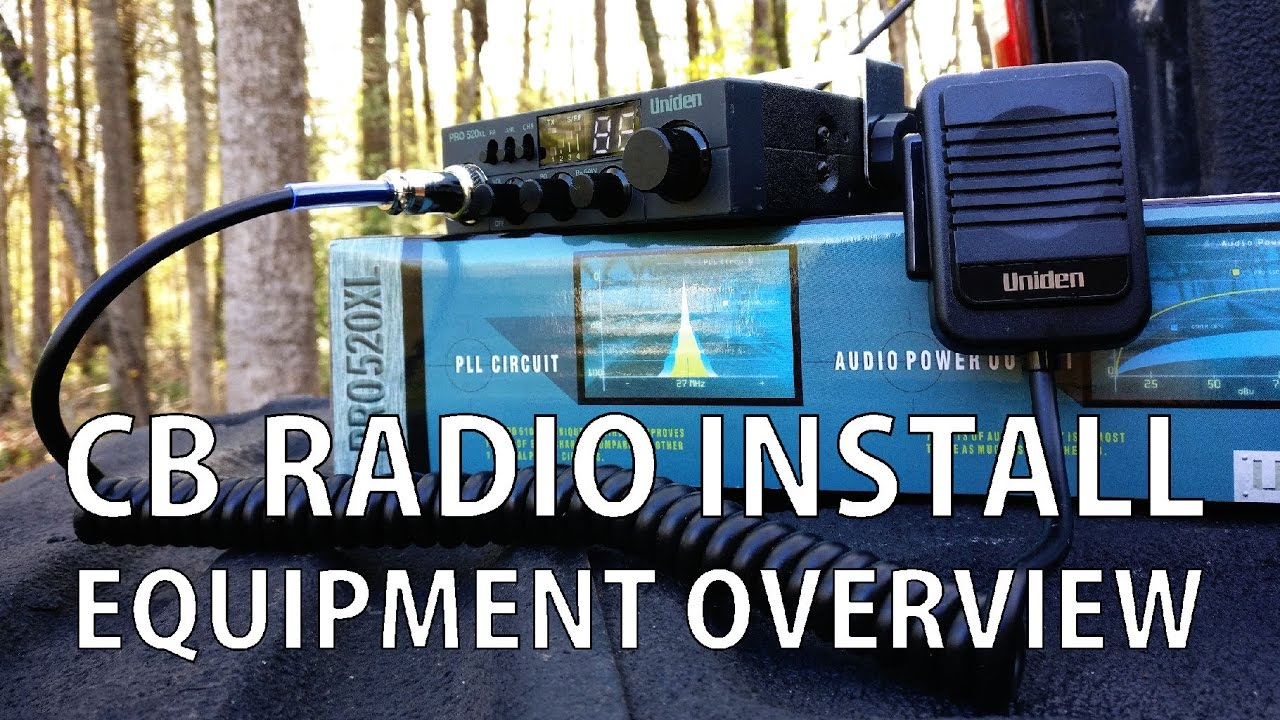 CB Radio Install: Installing the Antenna - YouTubeYouTube