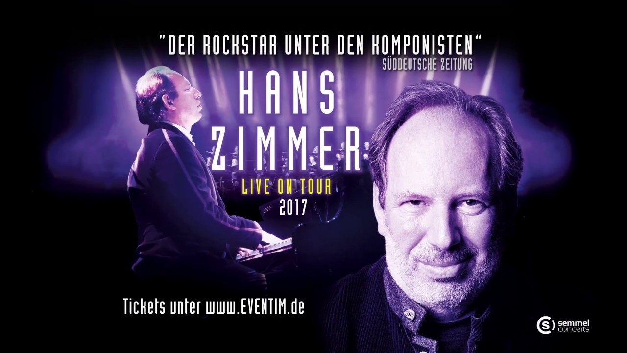 Hans Zimmer Live On Tour 2017 Trailer Youtube