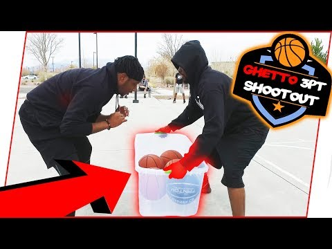 The Ghetto 3-Point Challenge!