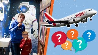 VLOG - DESTINATION SURPRISE EN AVION ... ✈️