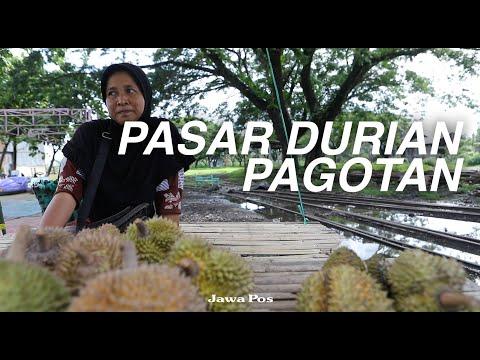 Jawa Pos Belah Durian Episode 16: Pasar Durian Pagotan Madiun