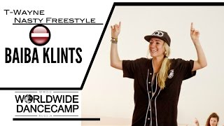 BAIBA KLINTS || T-Wayne - Nasty Freestyle || Worldwide Dance Camp 2015 || Russia