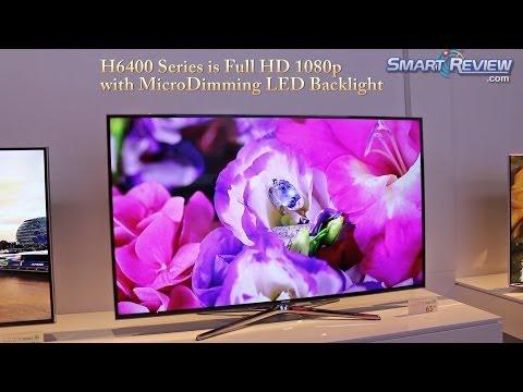 CES 2014 | Samsung H6400 Series Smart TV | Full HD 1080p LED TV | UN55H6400, UN60H6400, UN65H6400