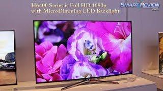 CES 2014   Samsung H6400 Series Smart TV   Full HD 1080p LED TV   UN55H6400, UN60H6400, UN65H6400