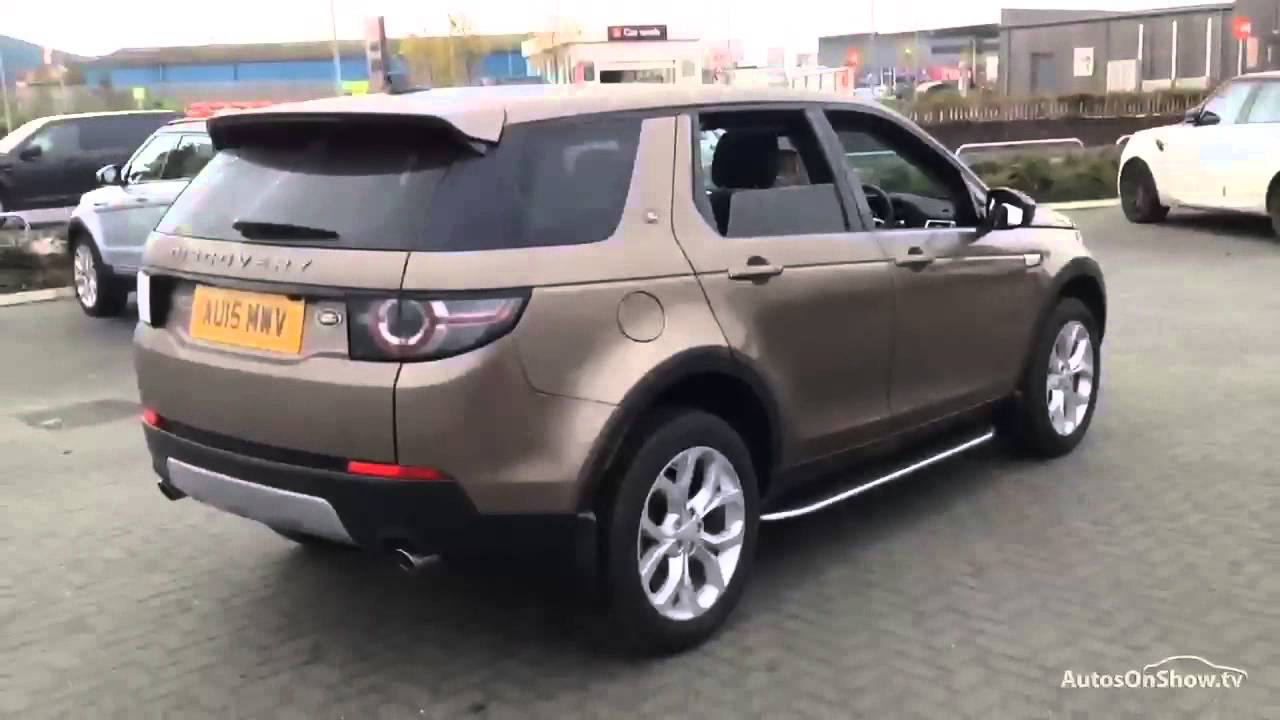 Range Rover Sport Brown: LAND ROVER DISCOVERY SPORT SD4 HSE BROWN 2015