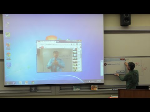 April Fools - Math Class Internet Connection Error