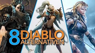 Alternativen zu Diablo: Die 8 interessantesten kommenden Action-RPGs