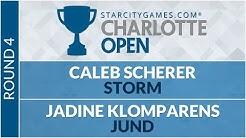SCGCHAR: Round 4 - Caleb Scherer VS Jadine Klomparens [Modern]
