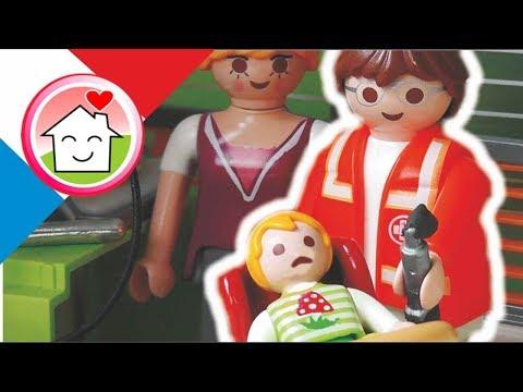 Playmobil en français Paul est blessé - La famille Hauser / film pour enfants