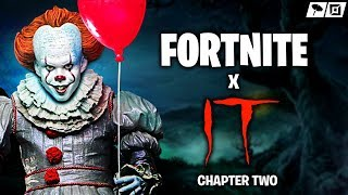 FORTNITE x IT CHAPTER 2 EVENT STARTING NOW! Pennywise Skin Bundle, Challenges & Rewards Confirmed