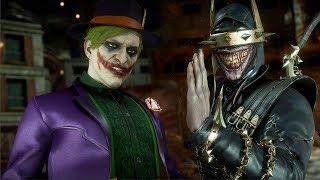 MORTAL KOMBAT 11 - JOKER vs THE BATMAN WHO LAUGHS Gameplay (MK11) @ 1440p (60ᶠᵖˢ) ✔