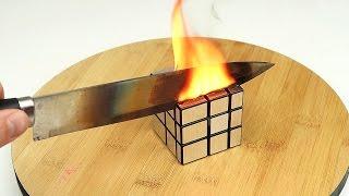 Что если раскаленным ножом разрезать Магический кубик?