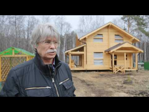 Дом из профилированного бруса в Екатеринбурге. БрусМаркет.