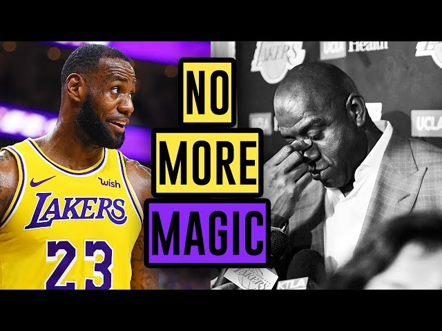 magic johnson quit the lakers after he was copied into - 640×480