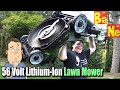 EGO Cordless Lawn Mower, Trimmer, Chainsaw & Blower
