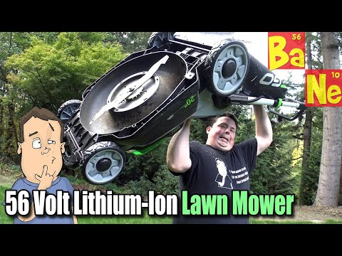 EGO Electric Cordless 56-Volt Lawn Mower, Trimmer, Chainsaw & Blower