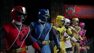 "Power Rangers Super Ninja Steel - Final Body Swap | Episode 21 ""Monster Mix-Up"" Halloween Special"