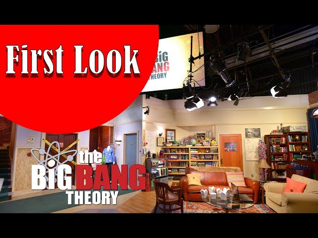 FIRST LOOK At The Sets From The Big Bang Theory