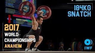 Sohrab Moradi | 184kg Snatch