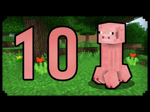 ✔ Minecraft: 10 Things You Didn't Know About The Pig