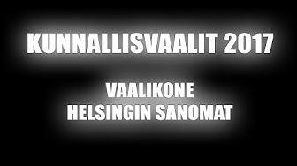 KV2017 - Vaalikone - Helsingin Sanomat