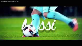 افضل مهارات ليو ميسي على اغنية اجنبية روووووووعه 2017
