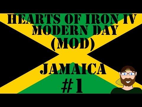 Hearts of Iron IV Modern Day Jamaica #1