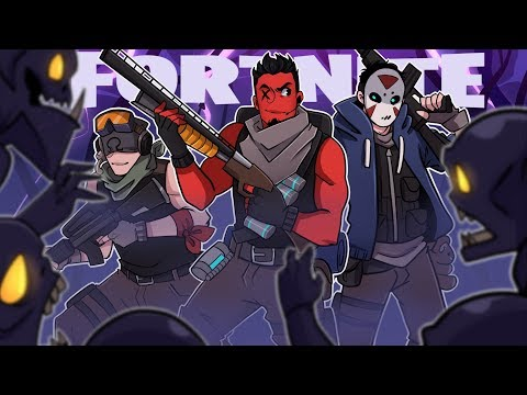 Fortnite: Battle Royale | SQUAD GOALS! (w/ H2O Delirious & Ohmwrecker)
