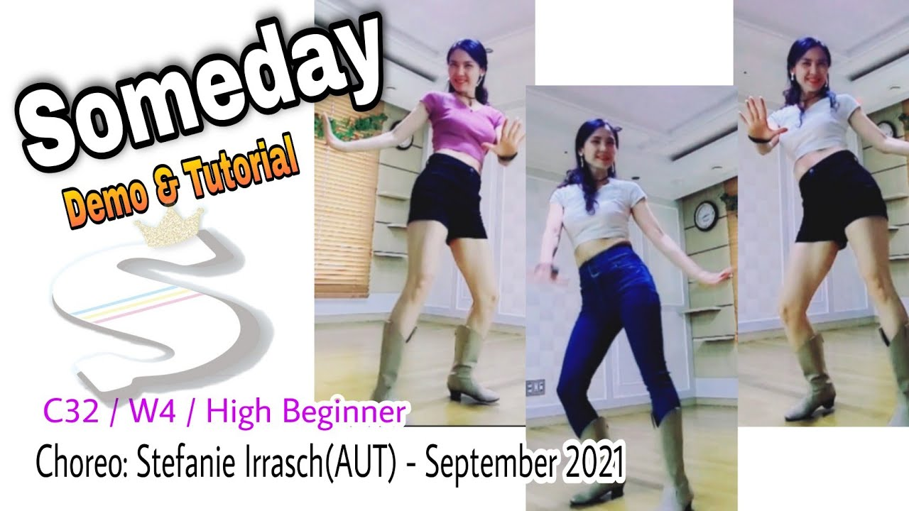 Someday-Line Dance(High Beginner)-Demo&Tutorial  #초급