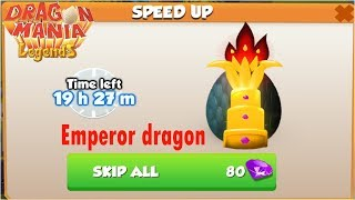 How to breed Emperor dragon egg , Light, Shadow , Dragon Mania Legends - part 777 HD