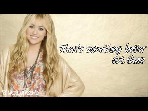 Hannah Montana - Que Sera - Lyrics