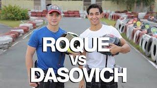 Dominic Roque vs. Wil Dasovich (Smoothest Go Kart Driver Battle)