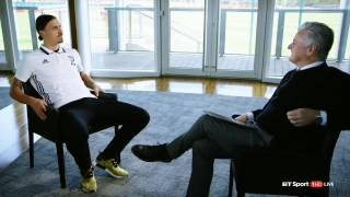 I AM A LION   Exclusive Interview with Zlatan Ibrahimovic