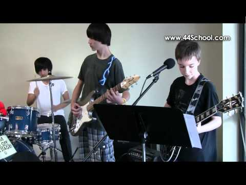 44 School of Music Rock Camp Performs Seven Nation Army!