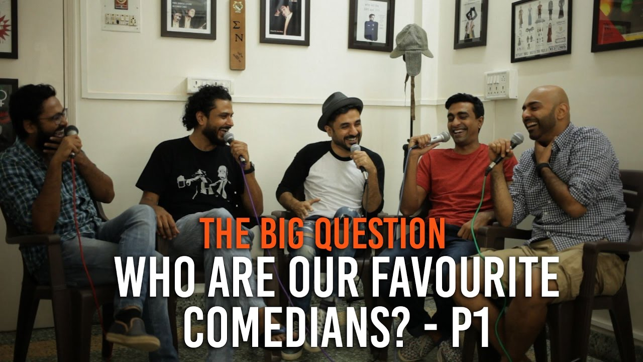 SnG: Who are our Favourite Comedians? Feat. Vir Das - Part1 | The Big Question Ep 56 | Video Podcast