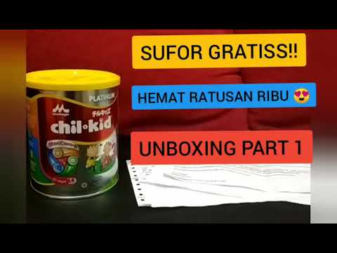 Susu Formula gratiss Unboxing + Review Morinaga Chil Kid Platinum