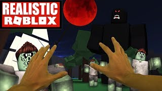 Realistic Roblox - ROBLOX BLOOD MOON TYCOON