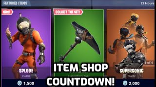*New* Fortnite Splode Skin! (Item Shop Countdown Live)
